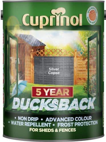 Cuprinol Ducksback 5L - Silver Copse