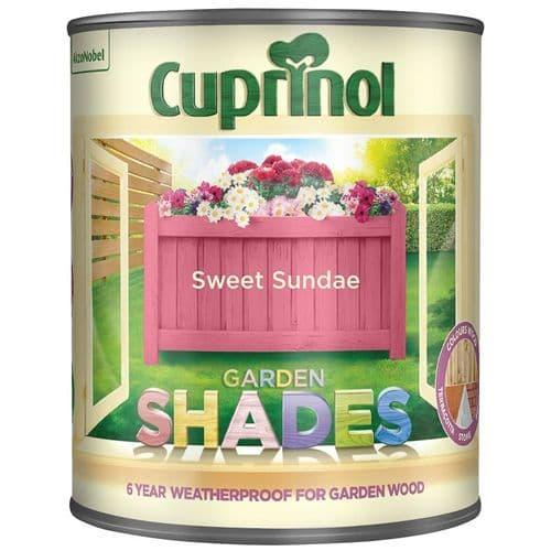 Cuprinol Garden Shades 1L - Sweet sundae