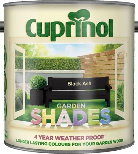 Cuprinol Garden Shades 2.5L - Black Ash