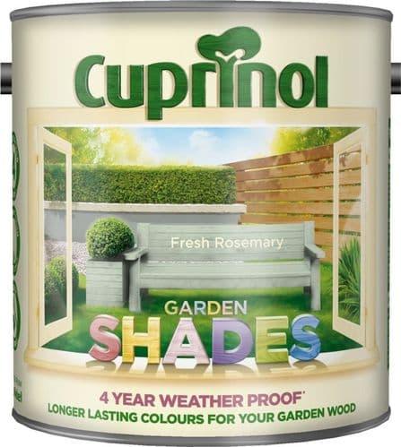 Cuprinol Garden Shades 2.5L - Fresh Rosemary