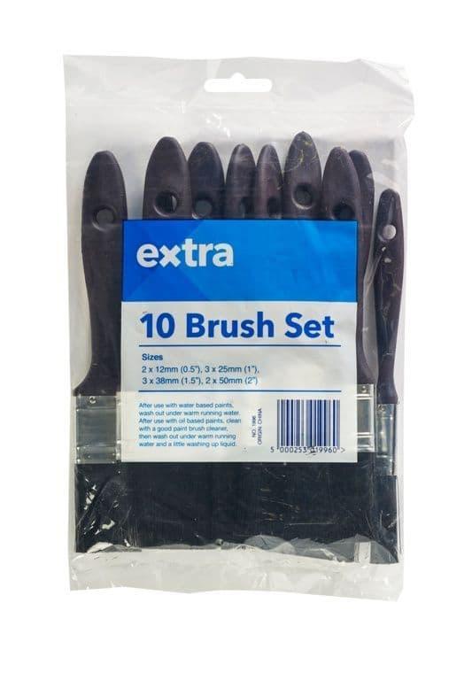 Extra Brush Set - Pack 10