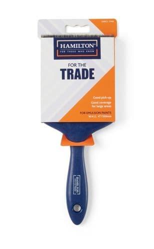 "Hamilton For The Trade Emulsion Wall Brush - 4"""