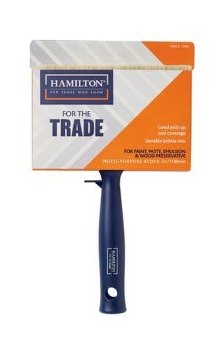 """Hamilton For The Trade Multi Purpose Block Brush - 5.5"""""""