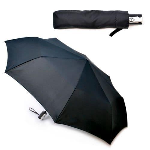 Laltex Gents Auto Supermini Umbrella - Black