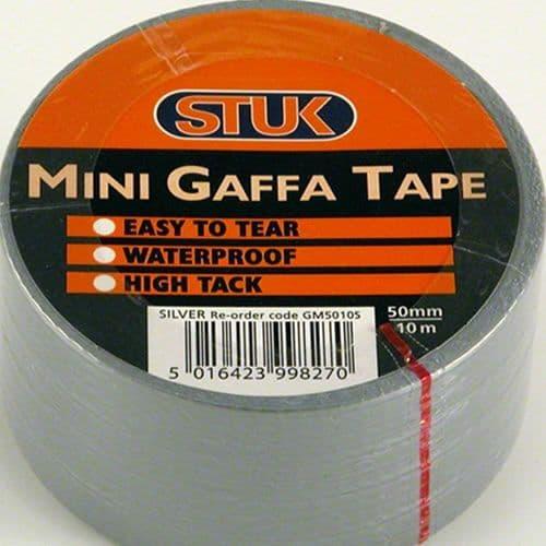 Mini Gaffa Tape Silver