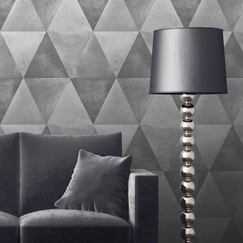 Muriva Caden Silver 152501 Wallpaper