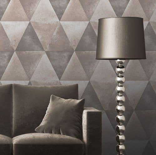 Muriva Caden Taupe 152502 Wallpaper