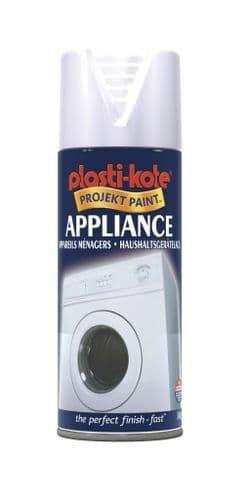 PlastiKote Appliance Spray Paint - 400ml White