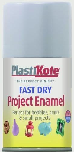 PlastiKote Fast Dry Enamel Aerosol Paint - Aluminium - 100ml