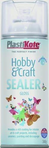 PlastiKote Hobby & Craft Sealer - 400ml Gloss