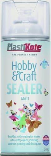 PlastiKote Hobby & Craft Sealer - 400ml Matt