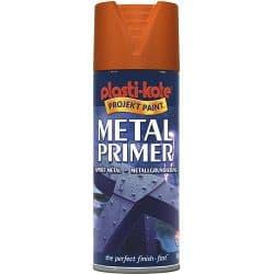 PlastiKote Metal Primer - 400ml Aerosol Red Oxide