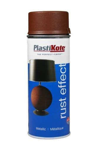 PlastiKote Metallic Paint - 400ml Rust