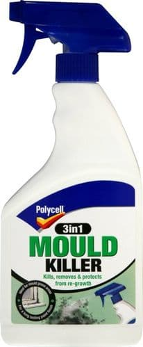 Polycell Mould Killer 3 in 1 Spray - 500ml