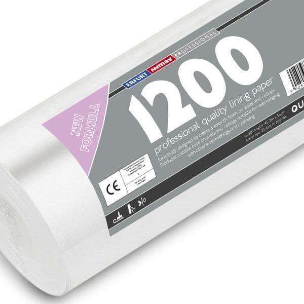 Professional Lining Paper 1200 Grade