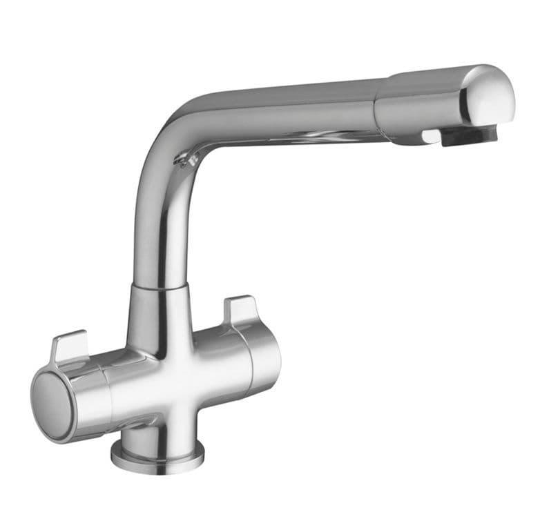 SupaPlumb Mono lock Mixer Sink Tap - H: 230mm D:230mm Diameter: 45mm