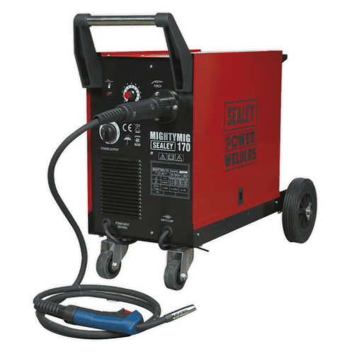Professional Gas/No-Gas MIG Welder 170A with Euro Torch