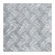 Alfer Checkerplate Aluminium Sheet - 600 x 1000 x 1.5mm