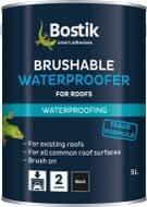 Bostik Brushable Waterproofer For Roofs - 2.5L