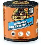Gorilla Waterproof Patch & Seal Tape - 3m Black