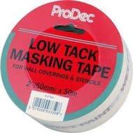 """Rodo Low Tack Masking Tape - 2""""/50mm x 50m"""