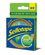Sellotape Zero Plastic Tape - 24mm x 30m