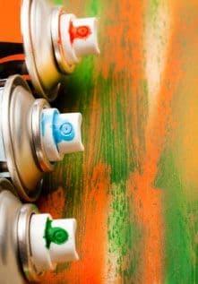 Christmas Spray Paints
