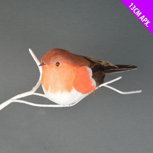 Davies Products Chubby Robin on Wire - 13cm