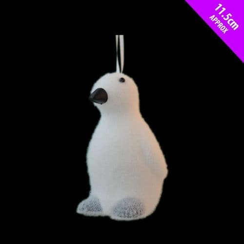 Davies Products Flocked Penguin