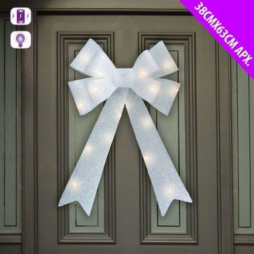 Davies Products LED Door Bow - 38cm x 63cm White