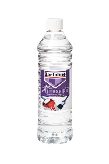 Bartoline Premium Low Odour White Spirit - 750ml