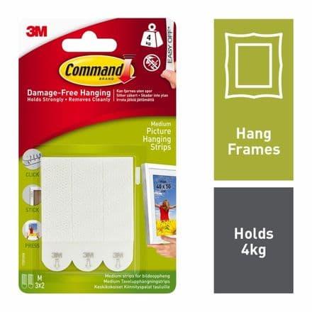 Command™ Medium Picture Strips
