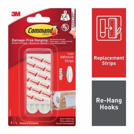 Command™ Mounting Strips - 6 Large