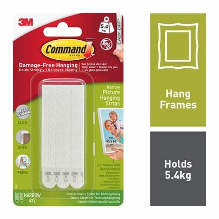Command™ Narrow Picture Strips - 4 Sets
