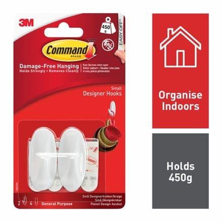 Command™ Small Hooks
