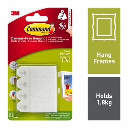 Command™ Small Picture Strips - 4 Sets