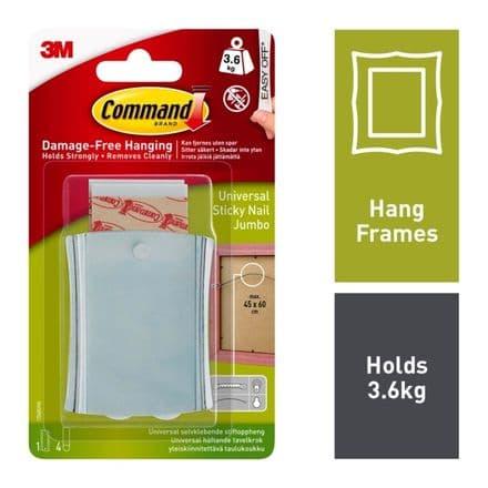 Command™ Universal Sticky Nail - Jumbo