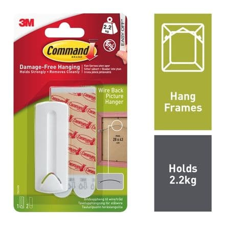 Command™ Wire-Backed Picture Hanger
