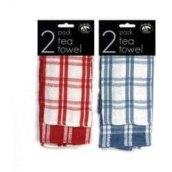 Globe Mill Textiles Tea Towel - 2 Pack Terry Design