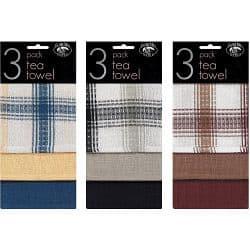 Globe Mill Textiles Tea Towel (3 Pack) - Honeycomb