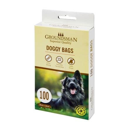 Groundsman Doggy Bags - Pack 100