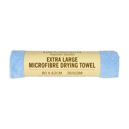 Groundsman Microfibre Drying Towel - Xl - 80 x 62cm
