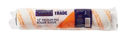 "Hamilton For The Trade Medium Pile Roller Sleeve - 12"""