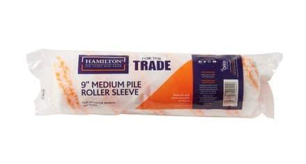 "Hamilton For The Trade Medium Pile Roller Sleeve - 9"""