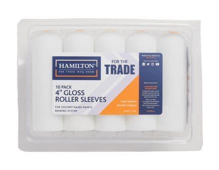 "Hamilton For The Trade Mini Foam Roller Sleeves Pack 10 - 4"""