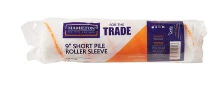 "Hamilton For The Trade Short Pile Roller Sleeve - 9"""