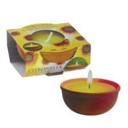 Price's Candles Citronella Terracotta Pot - Small