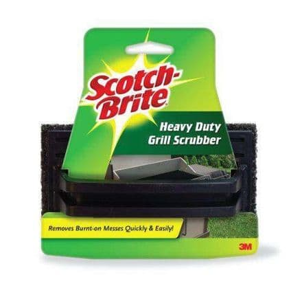 Scotch-Brite® Grill Scrub Pad - Charcoal / Black Colour