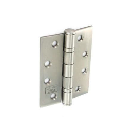 Securit Stainless Steel Bearing Hinges Satin CE 1 Pair - 100mm