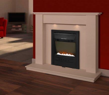 SupaWarm Electric Stone Effect Fire - 1800w